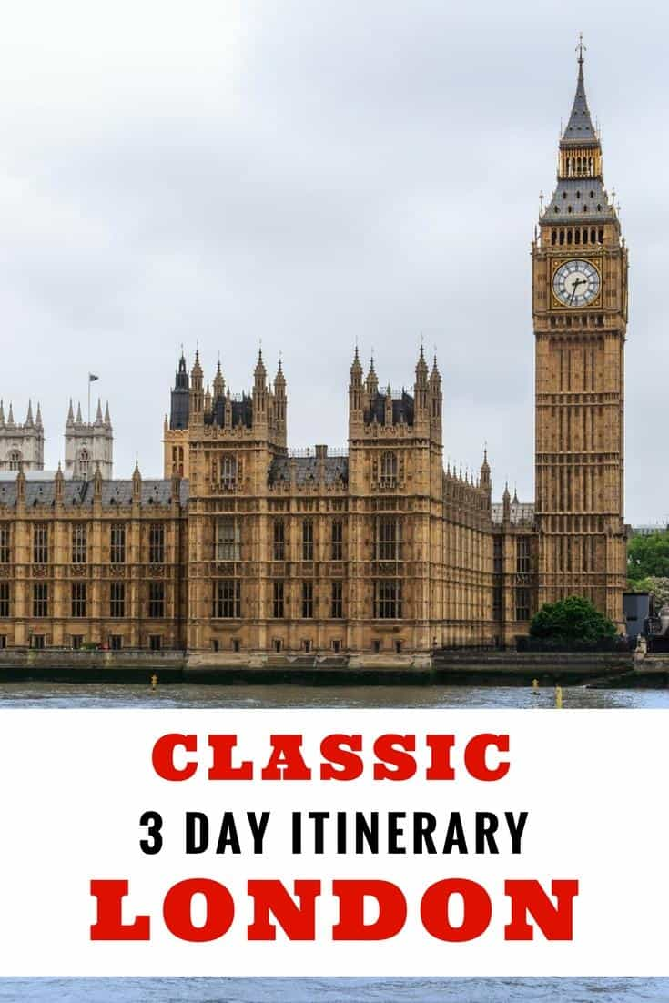 London travel - Classic itinerary for 3 days in London.Things to do, where to stay