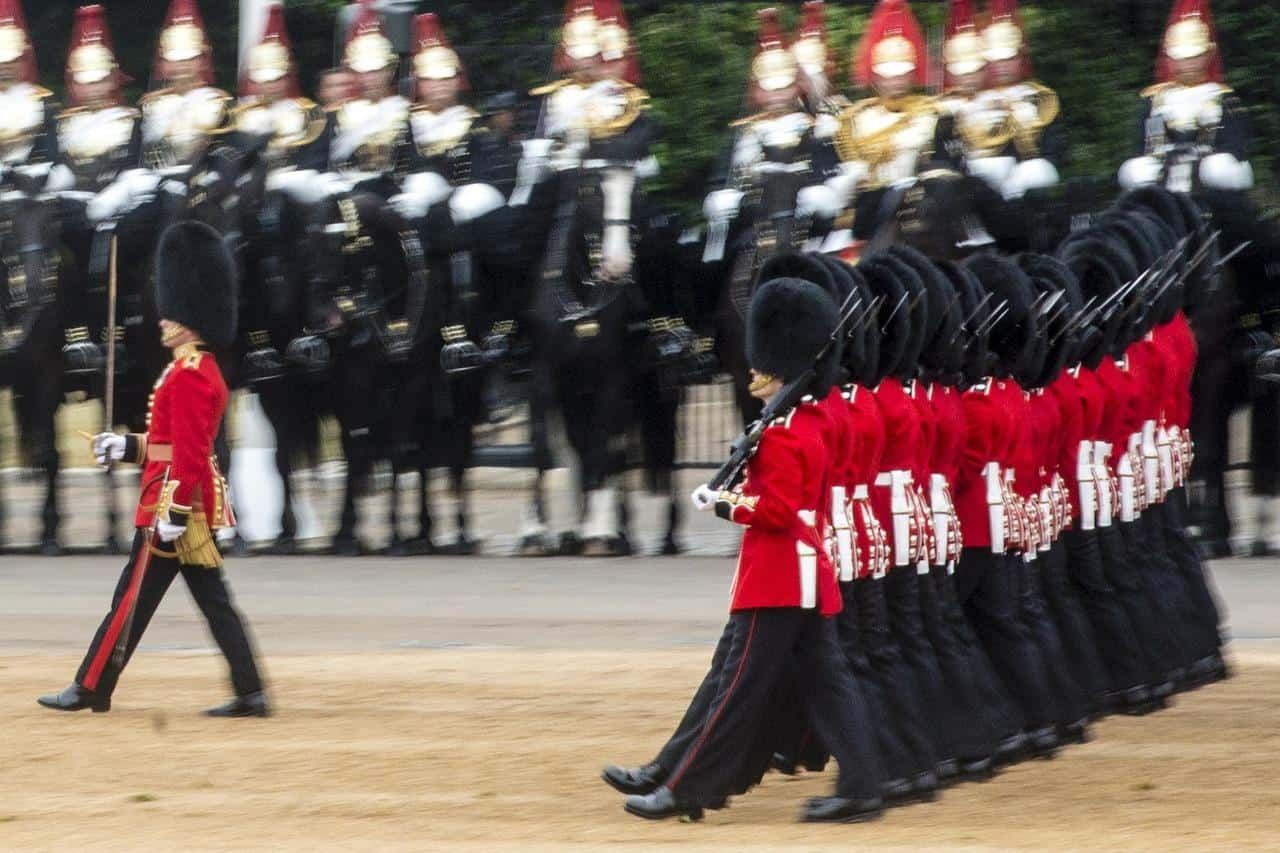 Changing of the Guard Ceremony London