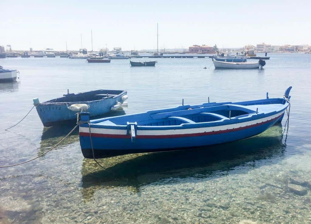 Marzamemi fishing village