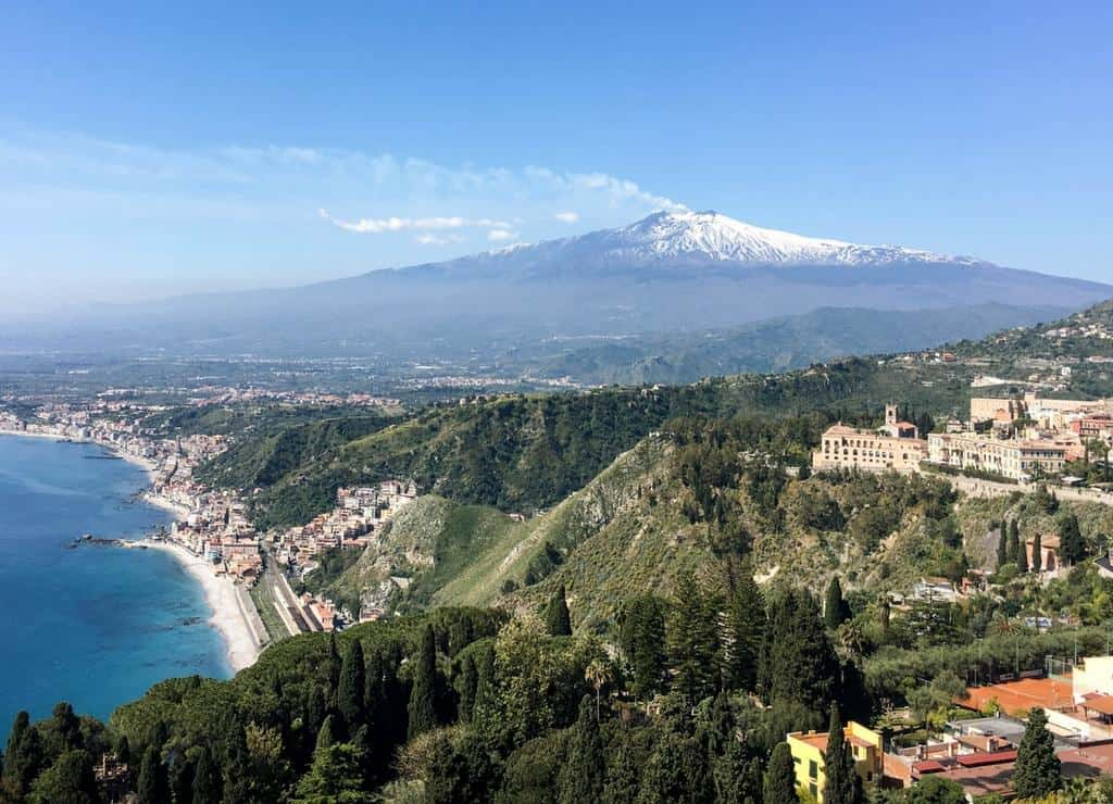 Mount Etna -Things to do in Sicily
