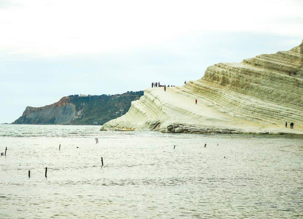 What to see in Sicily - Scala dei Turchei Sicily coastline