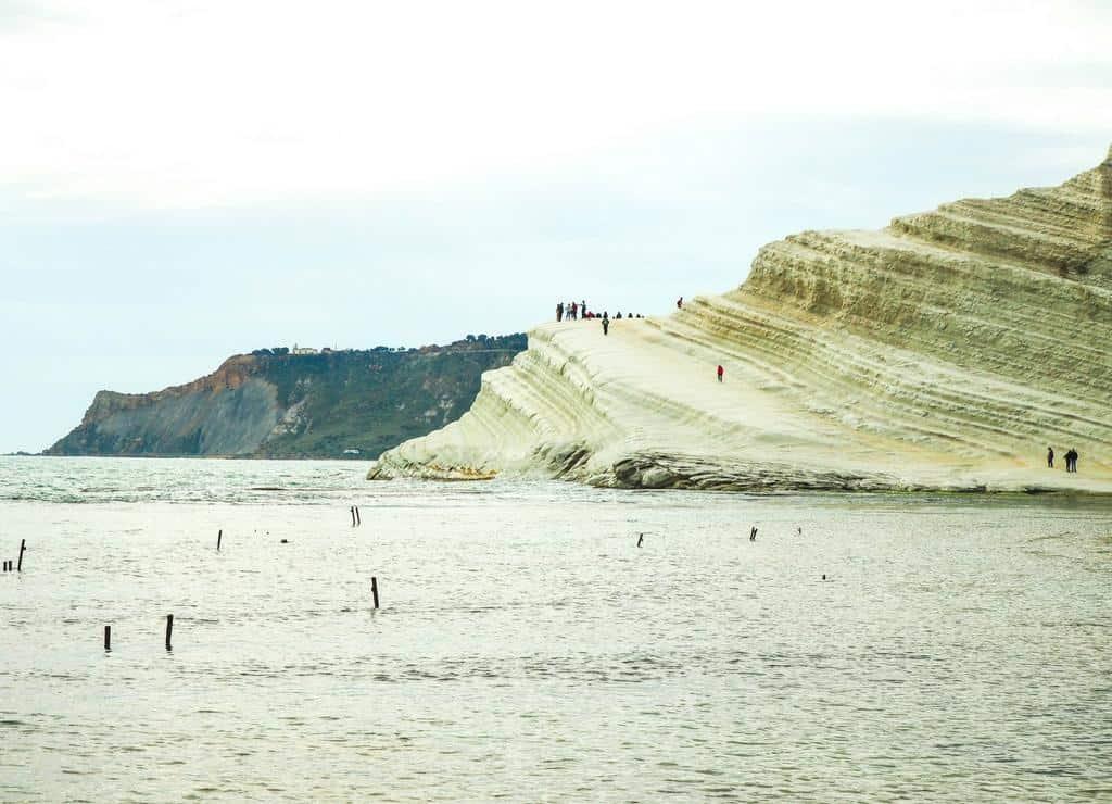 What to see in Sicily - Scala dei Turchei Sicily coastline