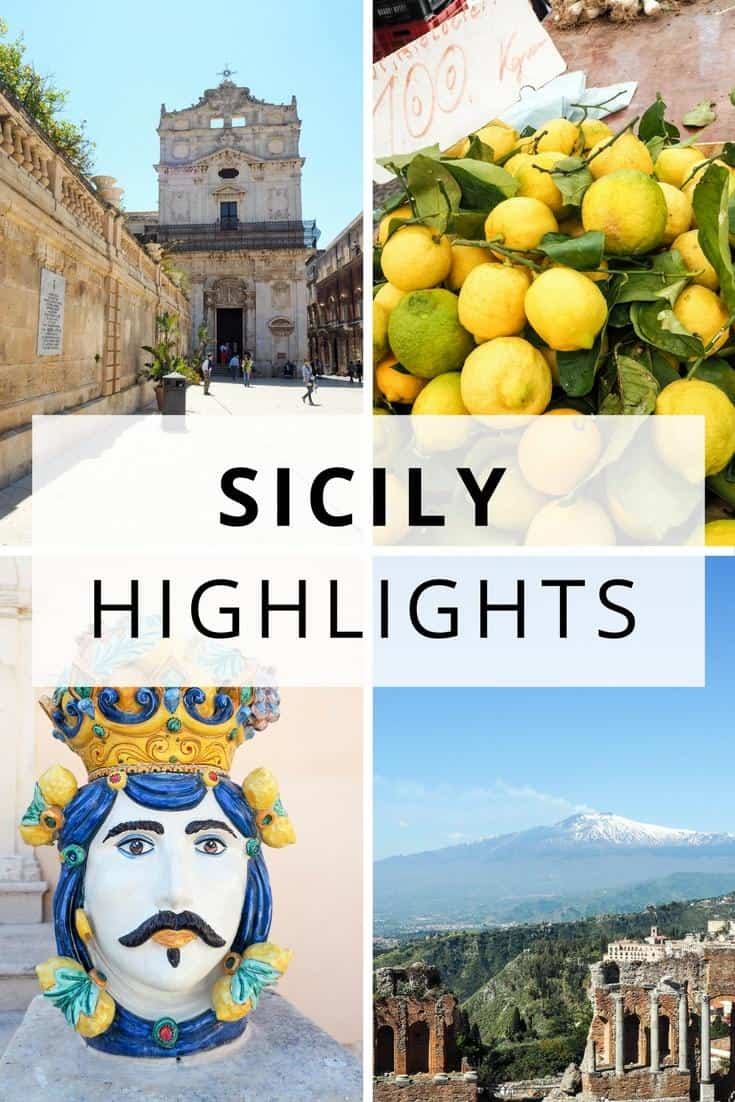 Sicily Italy - travel guide and highlights