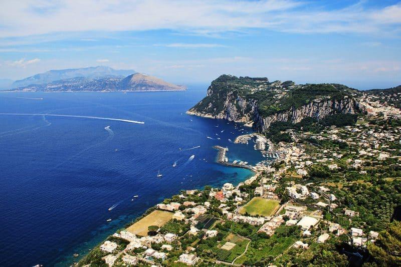 amalfi coast day trip to capri
