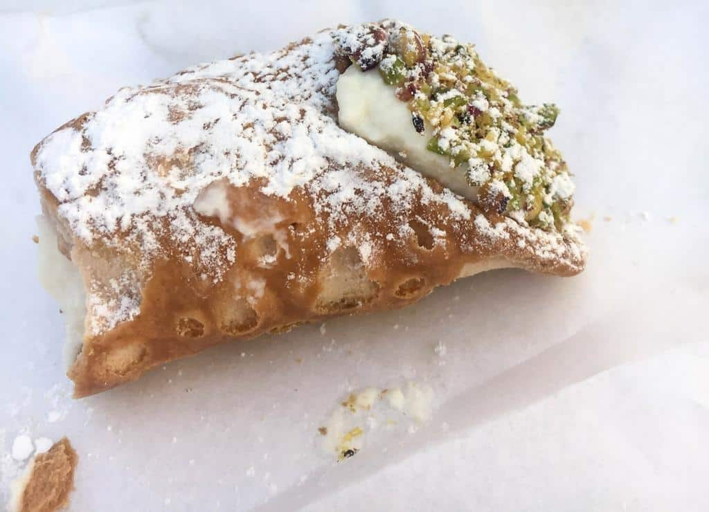 Sicilian cannoli - the best in the world