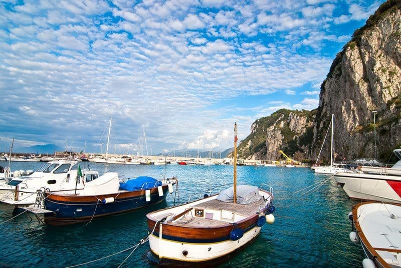 private boat capri