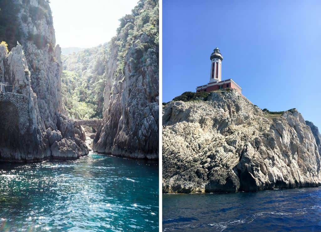 Lighthouse Natural Stone : Capri boat tour the best way to spend a day in