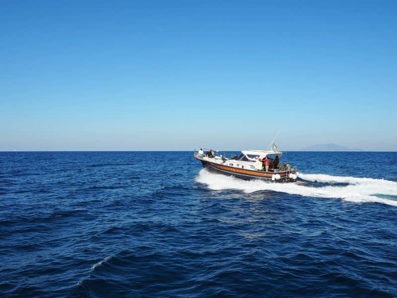 sorrento to capri by boat