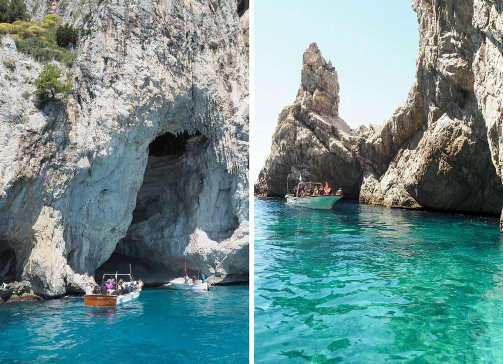 Capri grotto tour