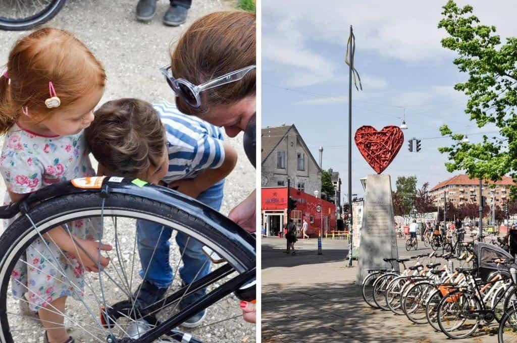 Copenhagen bike culture