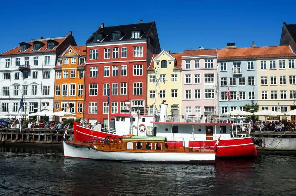 Nyhavn Copenhagen Denmark