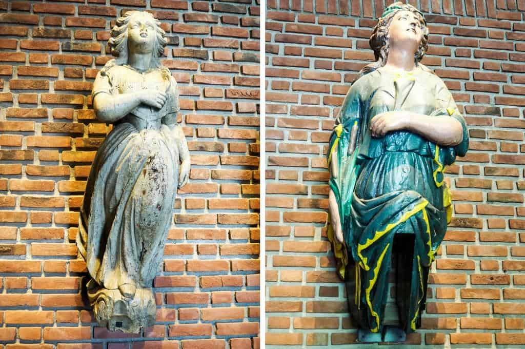 Figureheads from Norway's Maritime Museum
