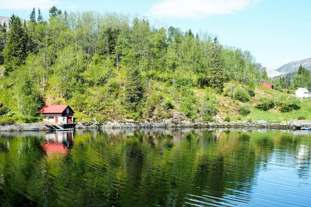 Osterfjorden - Norwegian fjord cruise