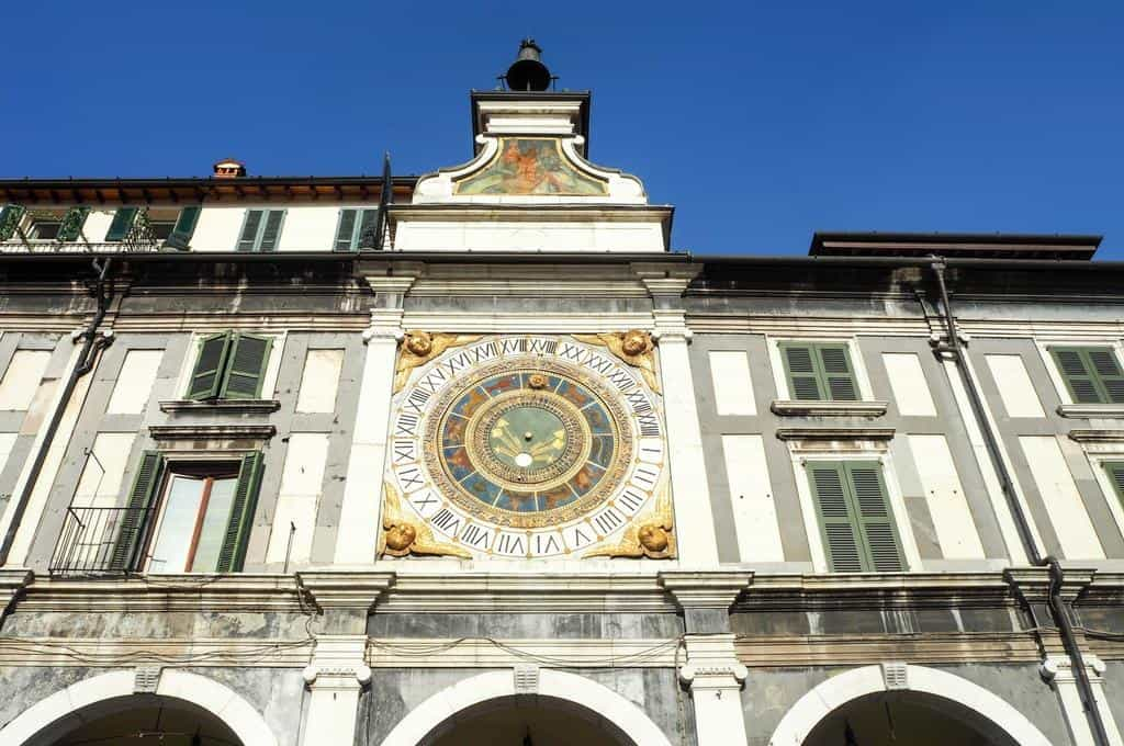 Astronomical clock Brescia