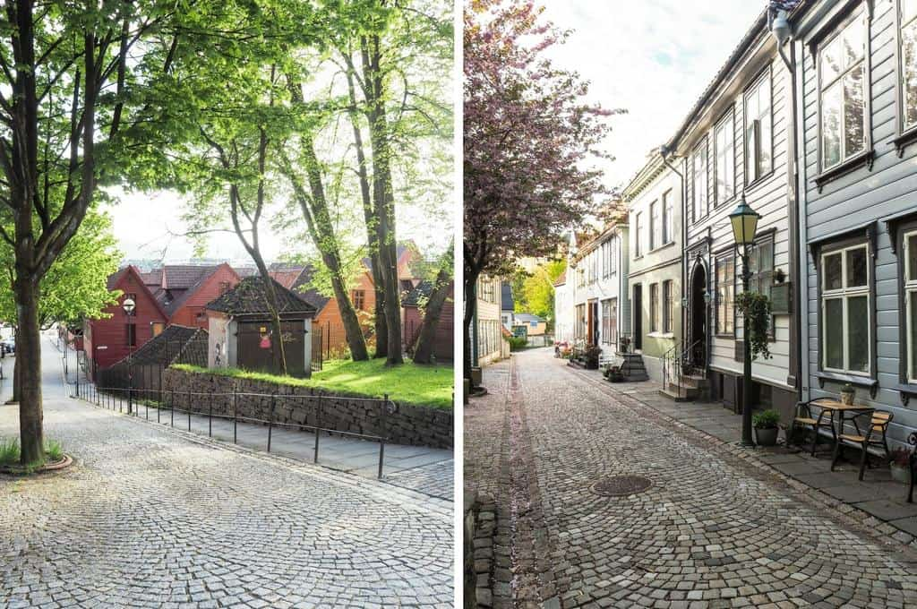what to do in Bergen - wander the Streets of Bergen