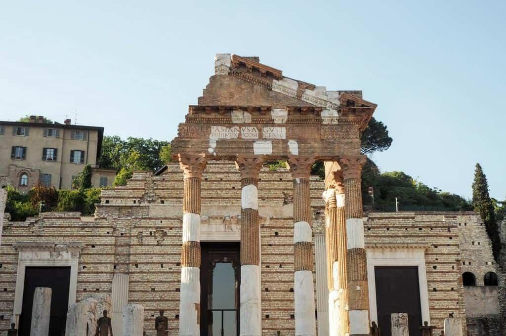 Capitoline Temple Brescia Italy