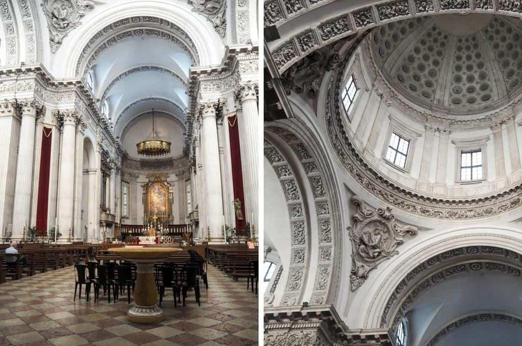 Interior Duomo Nuovo Brescia
