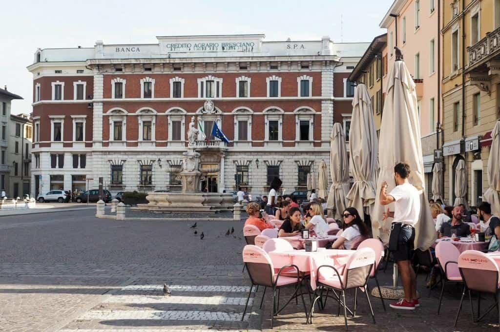 Piazza PauloVI Brescia
