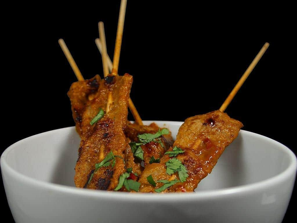 Balinese food guide sate satay