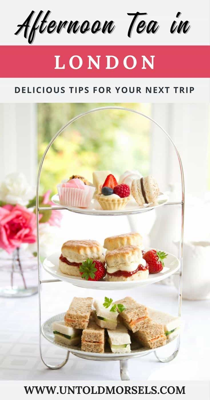 London afternoon tea: plan a memorable trip to England with these suggestions for afternoon tea in London. High tea London.