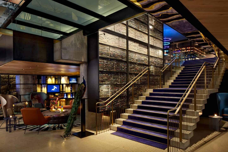 QT Melbourne foyer - boutique hotels melbourne