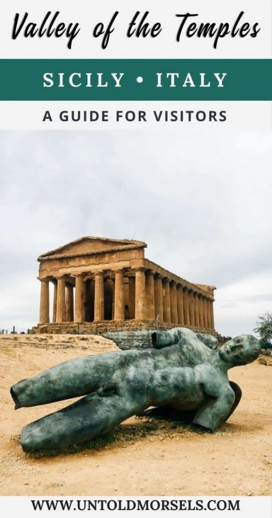Valley of the Temples Sicily Italy - visitor guide and highlights of one of the world's most important archaeological sites Valle dei Templi Agrigento Sicily