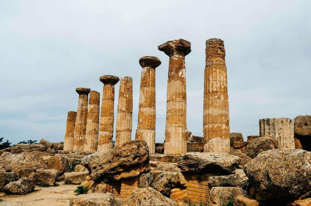 temple of heracles sicily