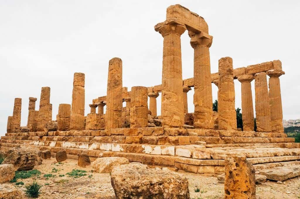 temple of Juno agrigento sicily