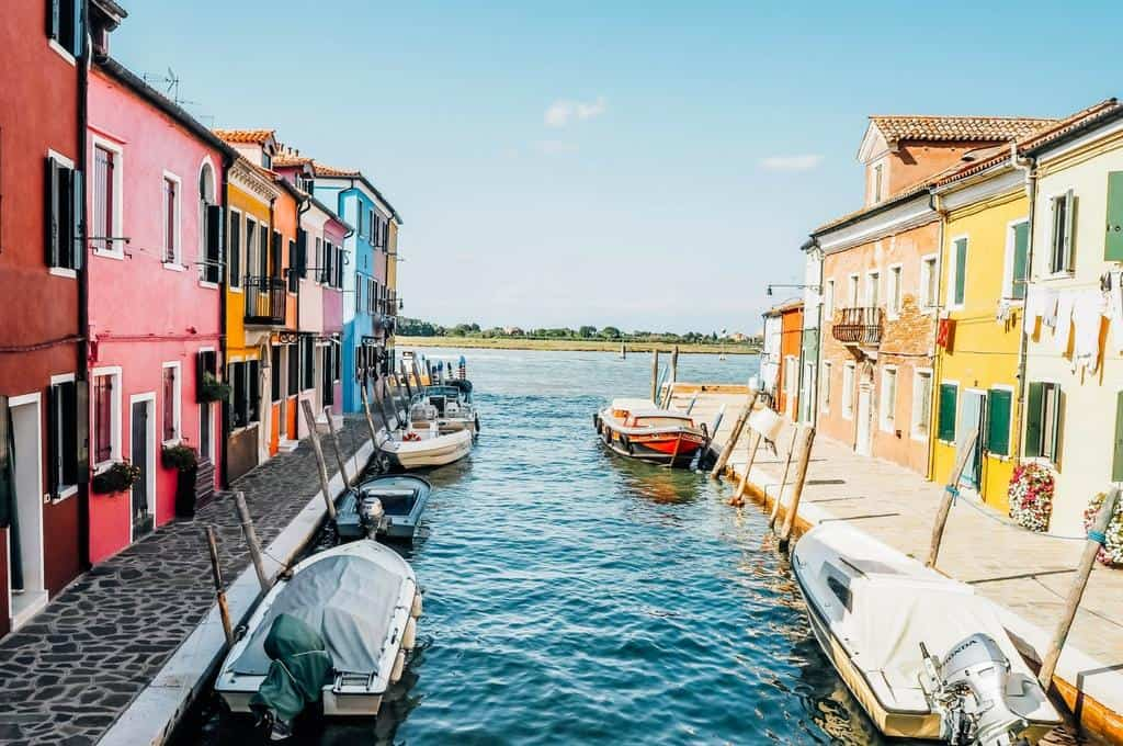 Burano - one of the hidden gems in Venice