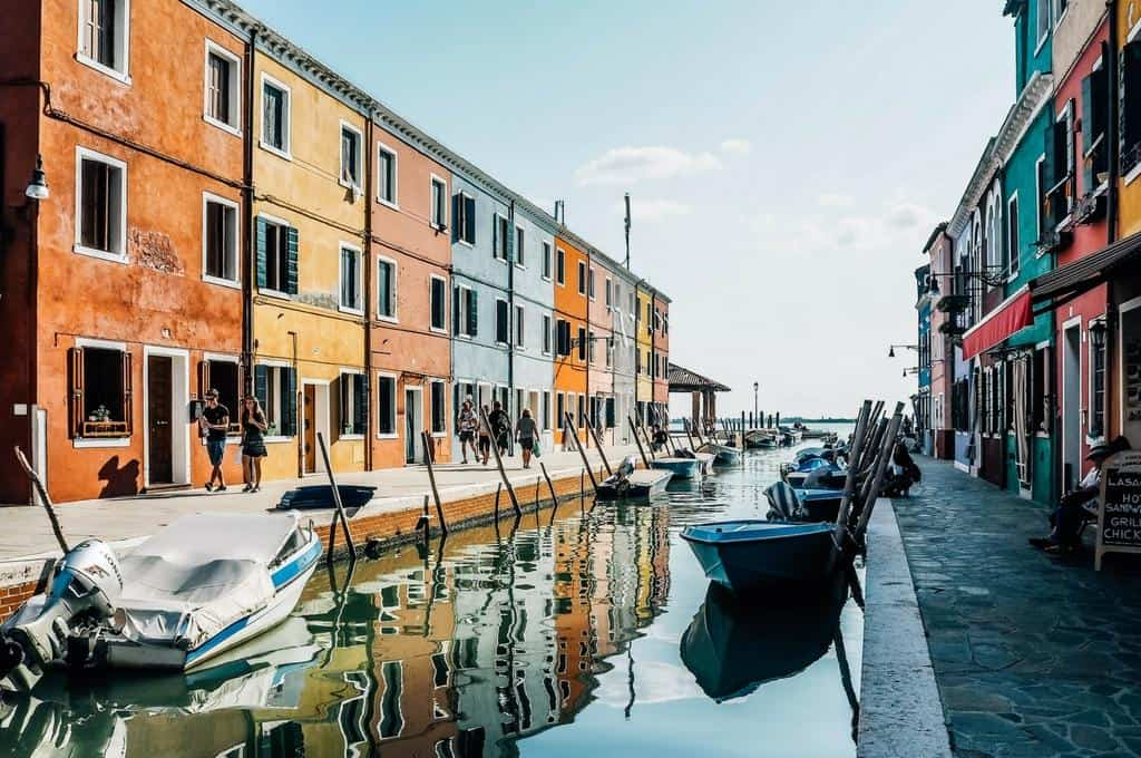 Burano – the most colorful island in Italy