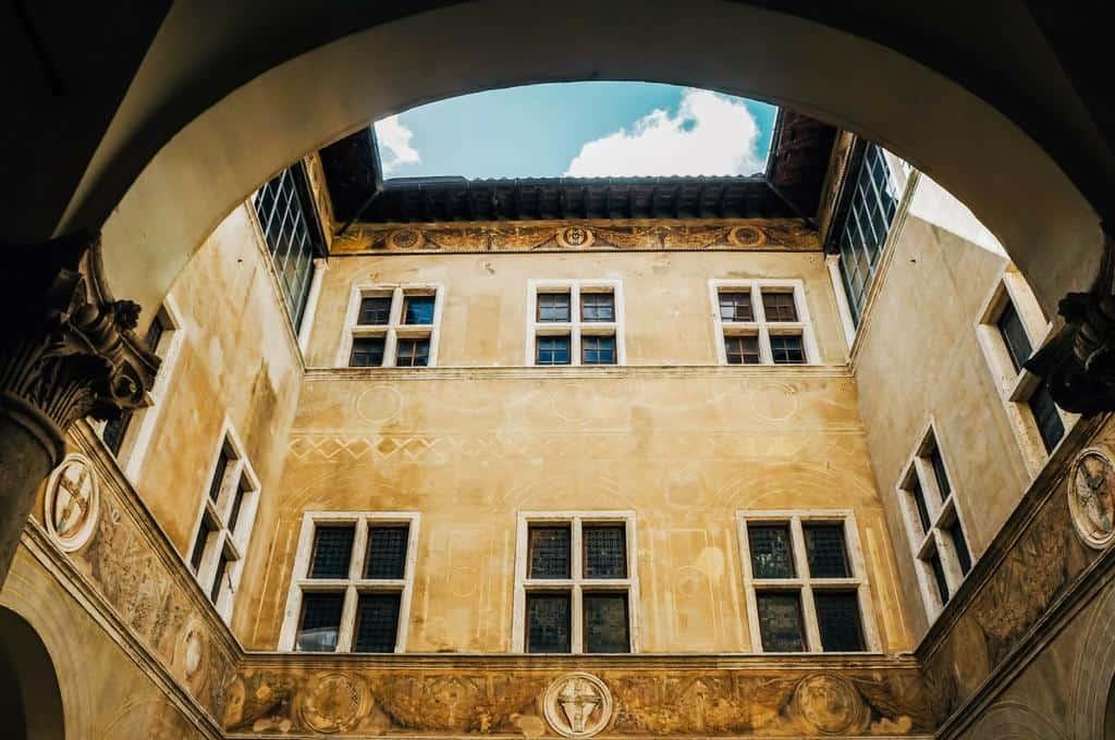 Palazzo Piccolomini Pienza