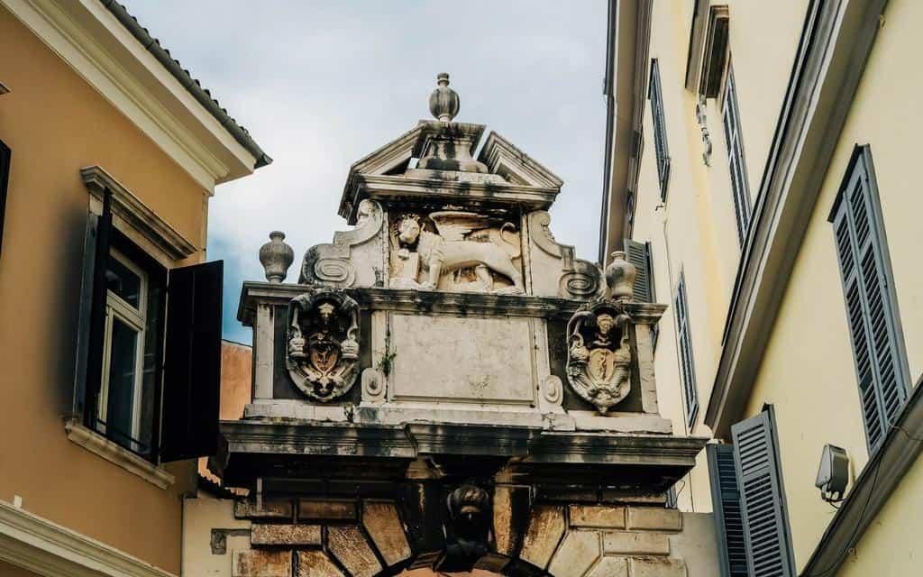 Balbi Arch Rovinj old town