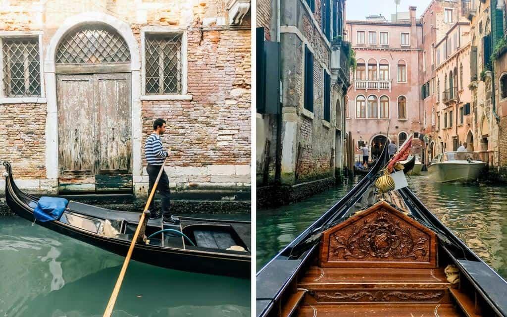 gondola watching in venice