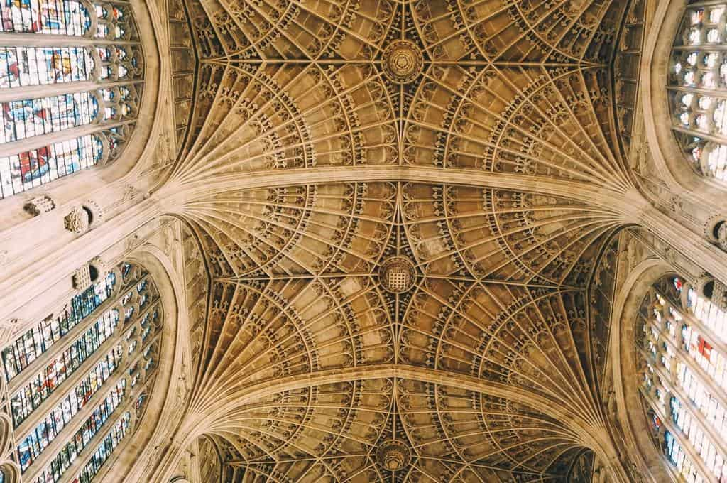 kings college cambridge ceiling
