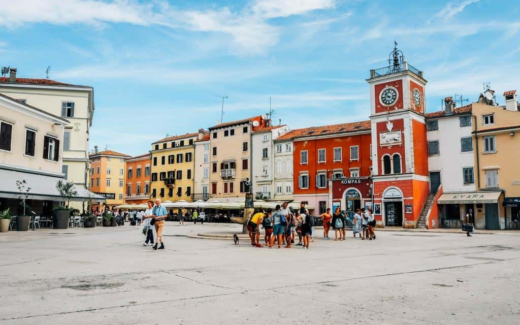 main square rovinj