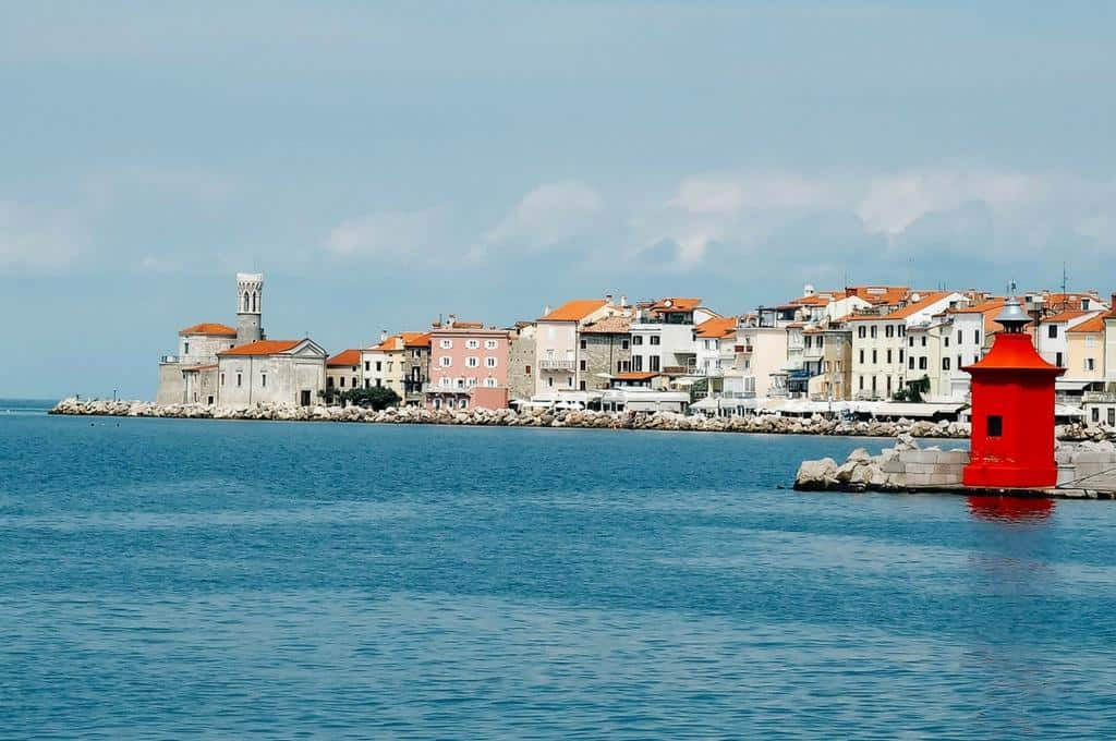 Postcard from Piran on the Slovenian Riviera