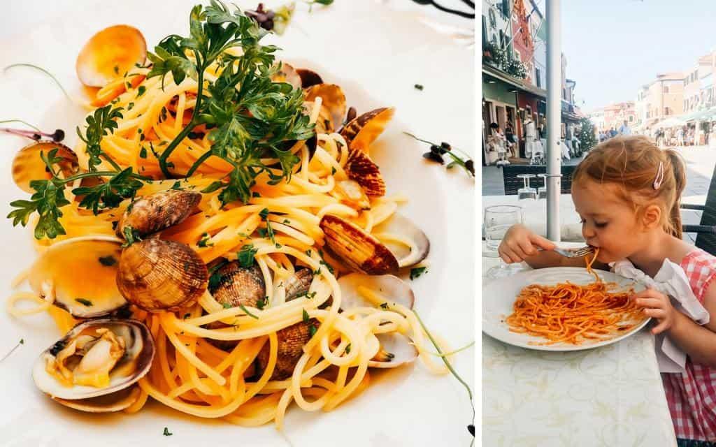 spaghetti in venice