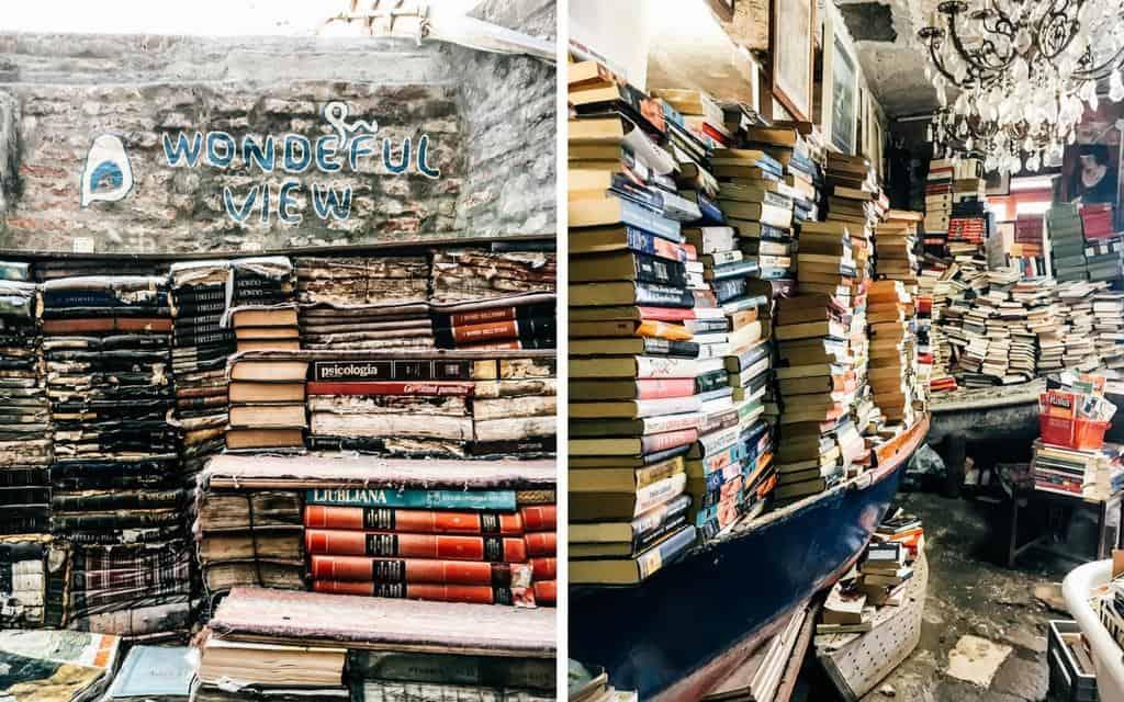 venice bookstore libreria acqua alta