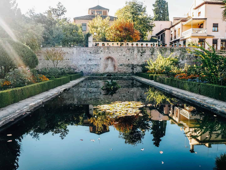 Partal Palace Gardens