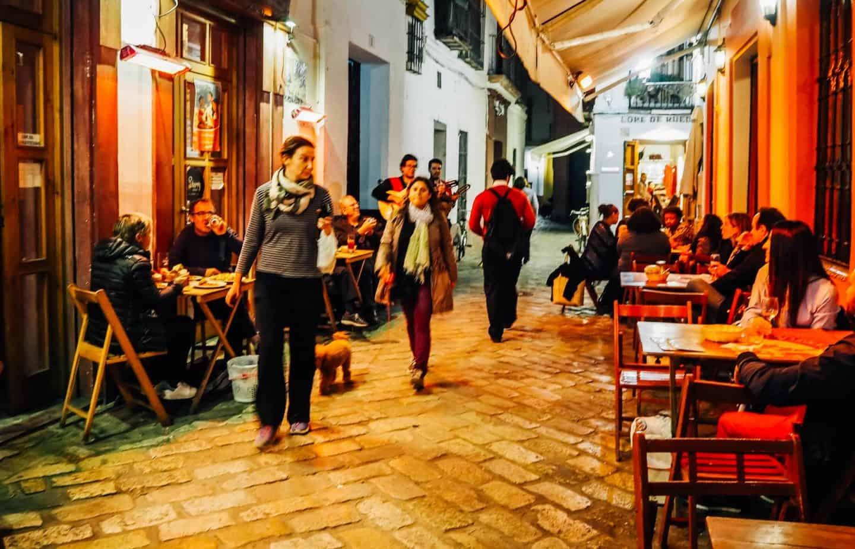 Devour Seville food tour - best places to eat in seville