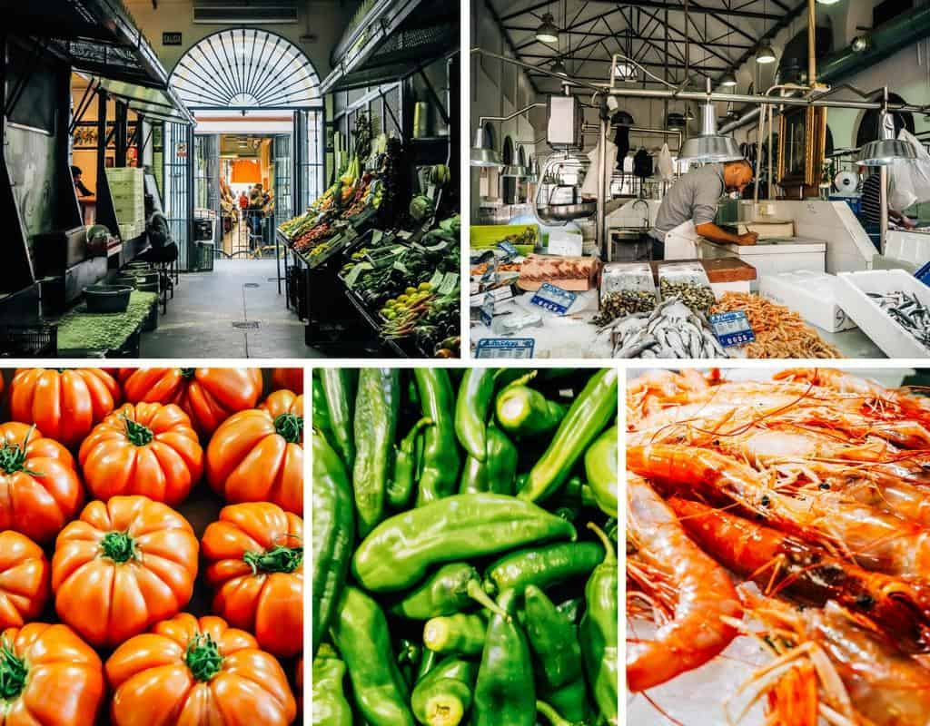 mercado de feria seville food market