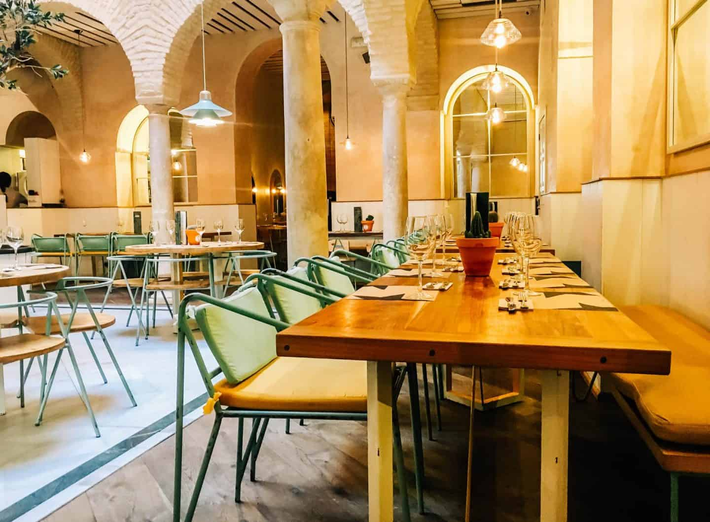 El Pinton Modern Tapas Bar Seville Best Restaurants In 2018