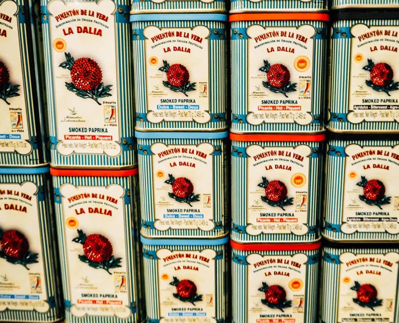 paprika seville spain food