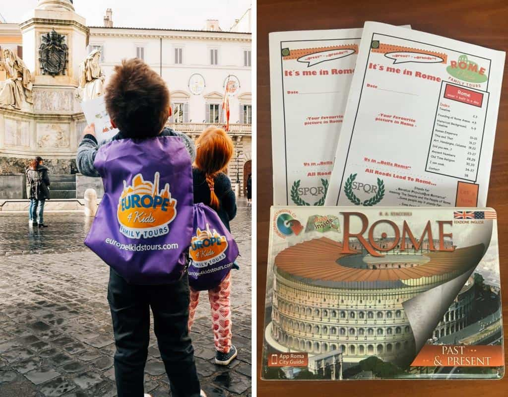 rome with rome4kids tours