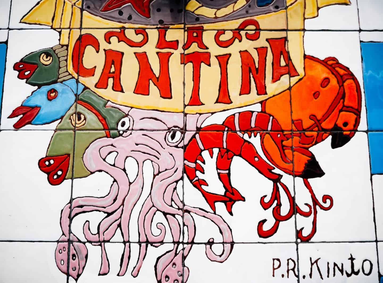 seville cantina sign - best tapas in seville 2018