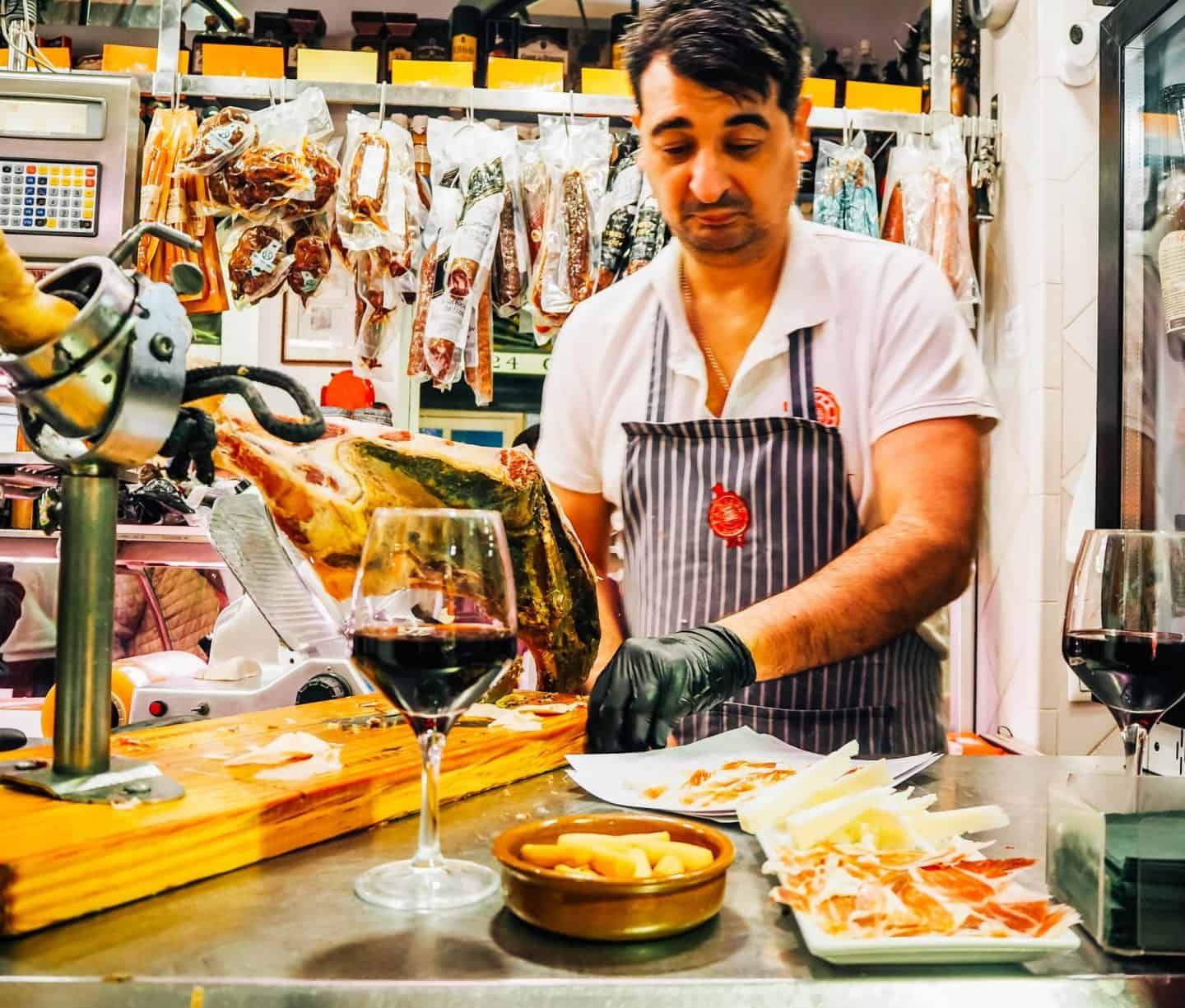 seville food experiences - market food in seville spain