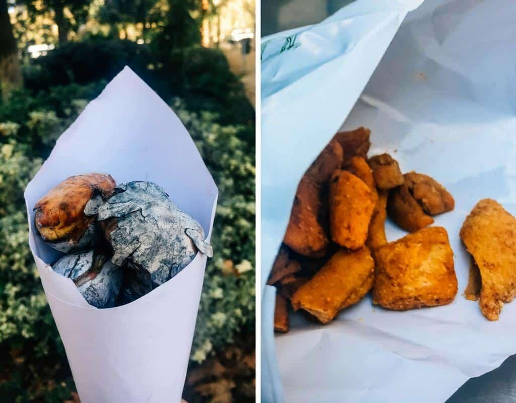 sevilla food - snacks from seville