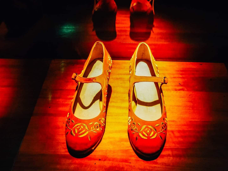 flamenco museum seville shoes