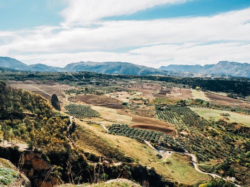 roads in andalucia