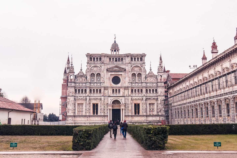 Pavia near Milan Italy